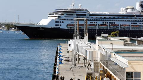 Cruise ships arrive in Florida after days of negotiations – latest updates