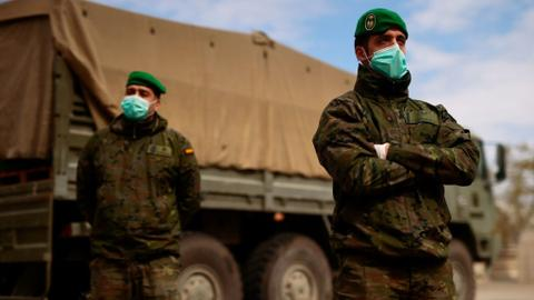 Coronavirus forces militaries to fight a different war