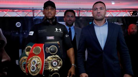 Joshua's heavyweight title defence postponed by coronavirus