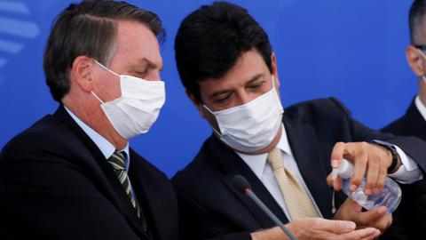Bolsonaro's disapproval rating rises amid virus havoc