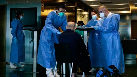 Virus patients in Spain get five-star hotel quarantine