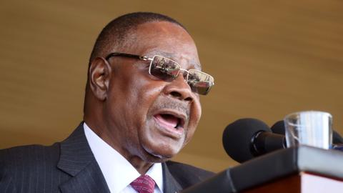 Malawi president takes wage cut to fund virus fight