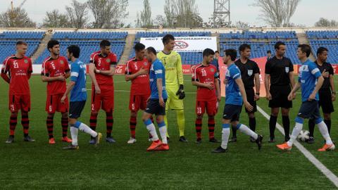 Tajikistan's football season starts despite coronavirus fears