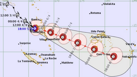 Vanuatu braces as monster Cyclone Harold strengthens in Pacific