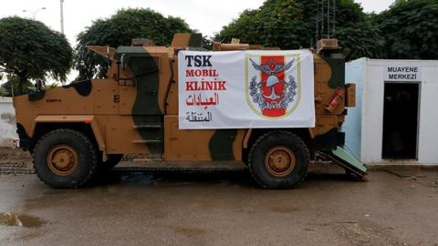 In pictures: Turkey supports northern Syria's response to Covid-19