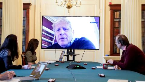 UK PM Johnson spends second night in intensive care
