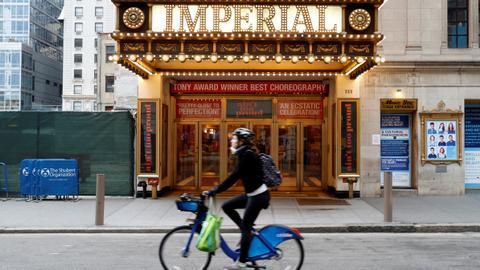 Broadway extends coronavirus shutdown through to June 7