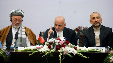 Last chance to make peace, Ghani warns Afghan Taliban