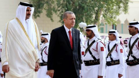 Turkey's parliament approves troop deployment to Qatar