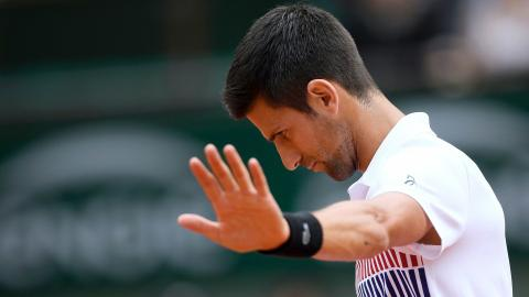 Defending champion Djokovic out of French Open