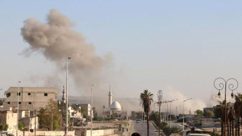 Regime air strikes kill 19 in Aleppo despite cessation deal