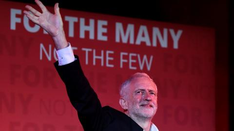 Positive outlook for Corbyn ahead of UK election