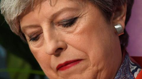 May's gamble to win stronger mandate turns into nightmare