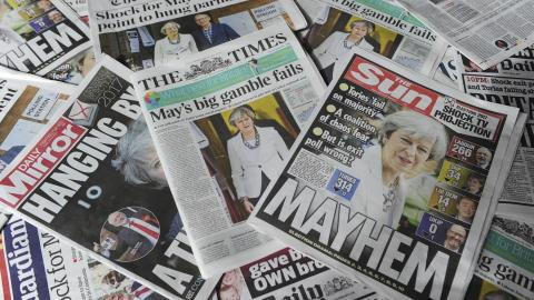 Global reaction to British election