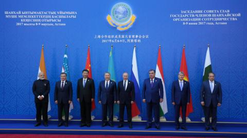 Pakistan and India join SCO security bloc