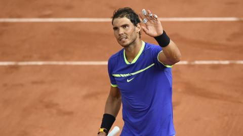 Nadal crushes Thiem in French Open to set up Wawrinka showdown