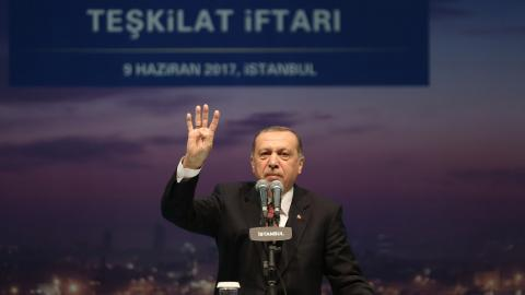 Erdogan vows