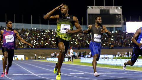 Bolt given emotional send off on home soil