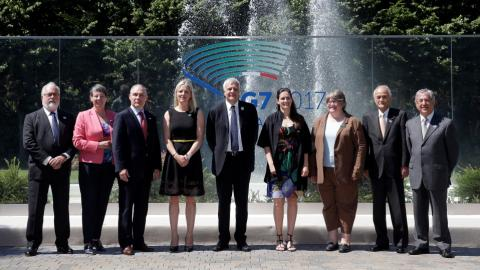 US climate change stance to dominate G7 summit in Italy