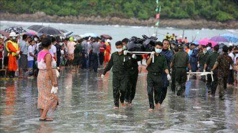 More bodies recovered from Myanmar plane crash scene