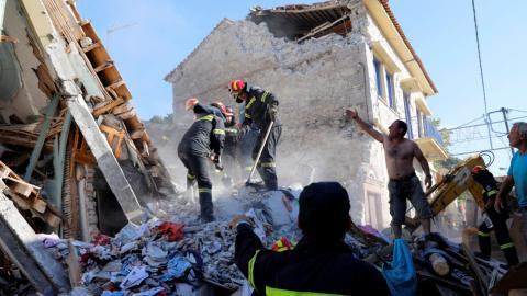 One dead as 6.3-magnitude quake strikes Greece and Turkey