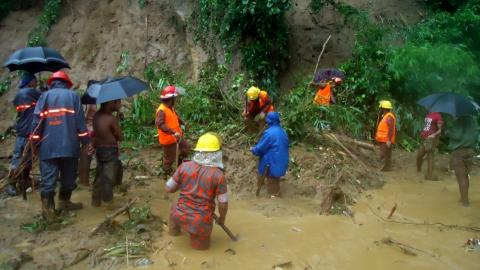 Death toll from Bangladesh landslides rises to 134