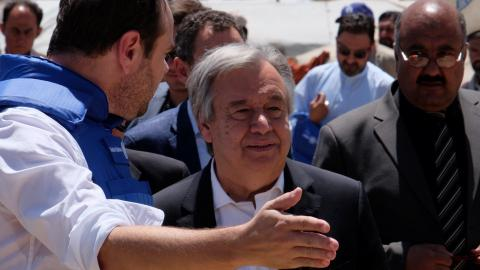 UN chief says there is no military solution in Afghanistan