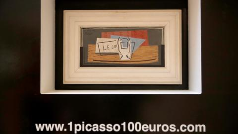 An antidote to coronavirus blues? A Picasso on your wall