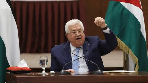 Mahmoud Abbas's declaration fails to make an impact - and it's his fault