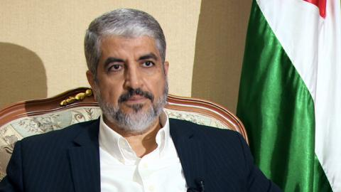 Khaled Meshaal on Hamas' new charter and Palestinian resistance