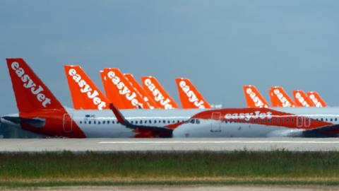 Britain's easyJet to axe up to 30 percent of its workforce