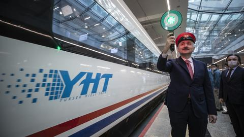 Turkey restarts intercity trains as Covid-19 restrictions ease