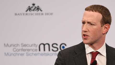 Facebook, internet platforms, shouldn't be 'arbiters of truth' - Zuckerberg