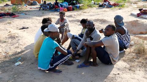 Shooting at smuggling warehouse in Libya kills 30 migrants