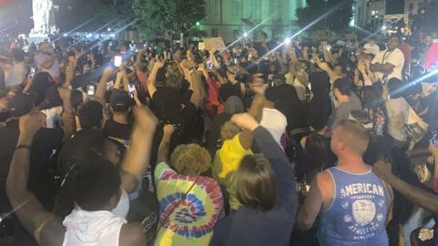 At least 7 shot at Louisville protest over fatal police shooting in March