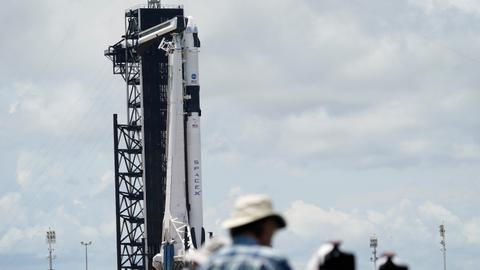 More storms threaten SpaceX's take two for astronaut launch