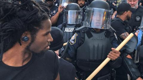 Protests, some violent, spread in wake of George Floyd death