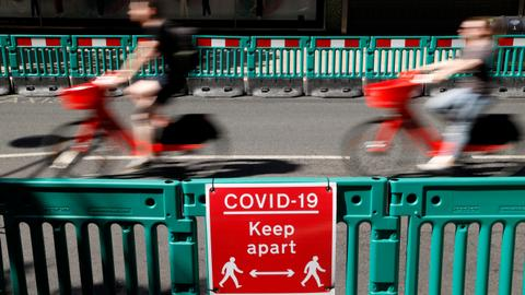 UK easing Covid-19 lockdown too soon, scientific advisers warn