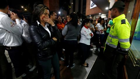Explosion in Colombia shopping centre leaves at least 3 dead