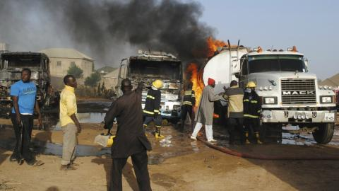 At least 12 killed in suicide attacks in Nigeria