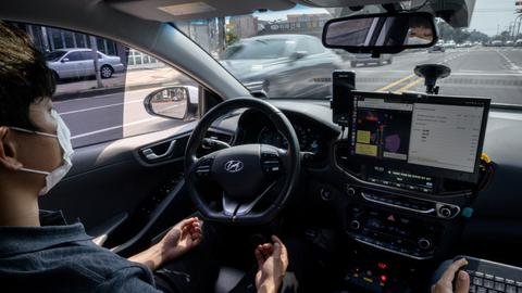 South Korea's self-driving upstarts take on tech giants