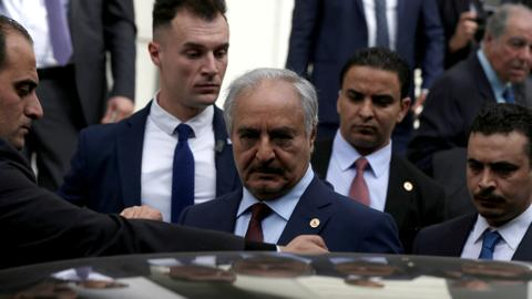 Haftar responsible for soaring civilian death count in Libya — report