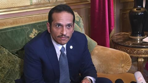 Qatar says no negotiations until sanctions lifted