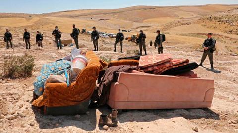 Netanyahu slams Israeli settlers for criticising Trump's West Bank plans
