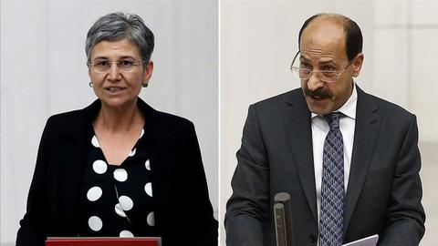 Three former Turkish opposition lawmakers sent to prison