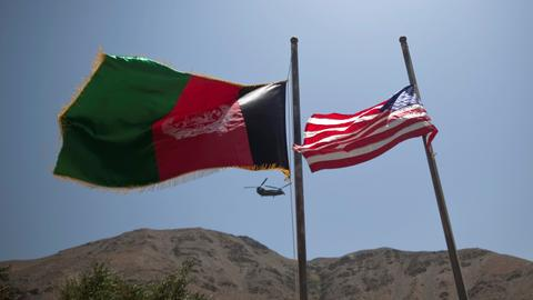US launches first Taliban air strikes since Afghan ceasefire end