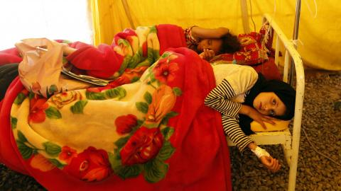Cholera death toll in Yemen nears 1,000