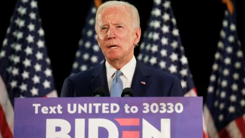Joe Biden formally wins US Democratic presidential nomination