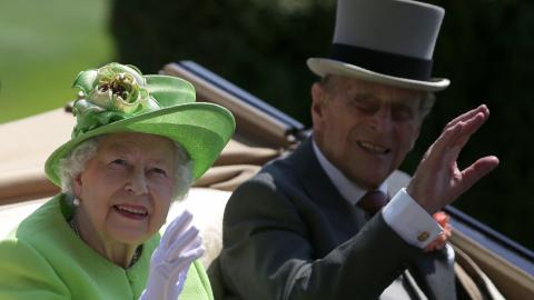 UK's Prince Philip hospitalised over infection