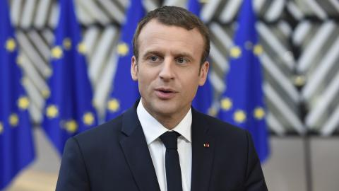 France's Macron: Deposing Assad is no longer a priority in Syria